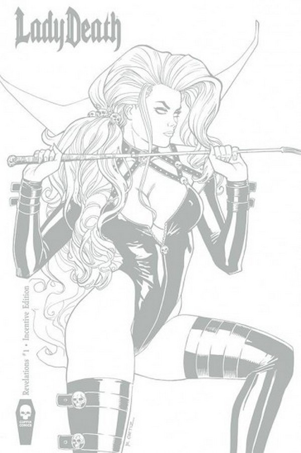 LADY DEATH REVELATIONS ILLUSTRATED 1 Incentive Edition (VO)