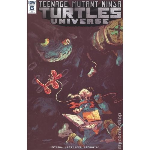 Teenage Mutant Ninja Turtles Universe 6 Retailer Incentive Variant (VO)