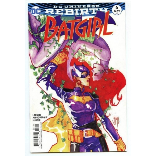 Batgirl 6 Manapul Variant (VO)