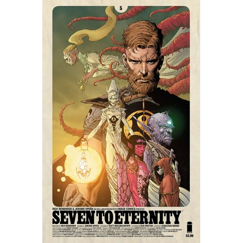 Seven to Eternity 5 (VO) Rick Remender -Jerome Opena