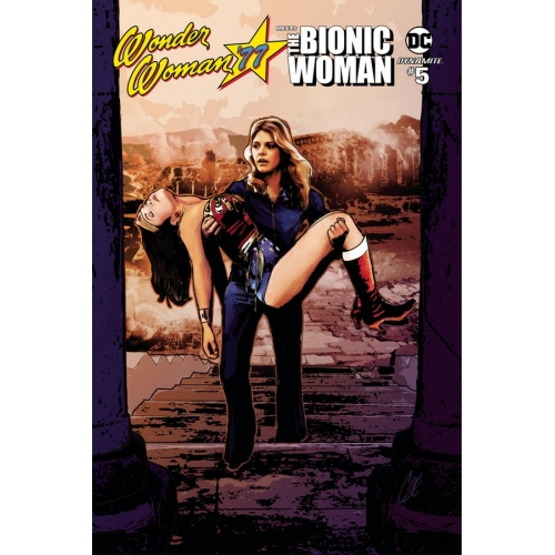 Wonder Woman '77 Meets The Bionic Woman 5 of 6 (VO)