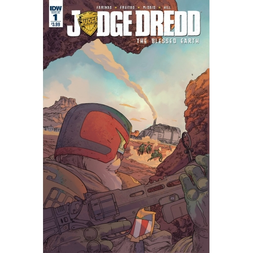 JUDGE DREDD: BLESSED EARTH 1 (VO)