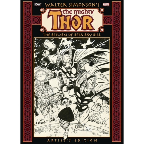 WALTER SIMONSON'S THOR: THE RETURN OF BETA RAY BILL ARTIST'S EDITION HC (VO)
