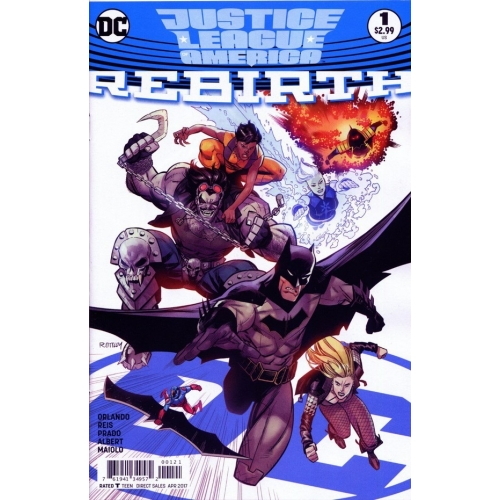 Justice League Of America Rebirth 1 Variant Edition (VO) One-Shot