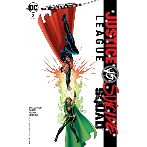Justice League Vs Suicide Squad 2 (of 6) Conner Variant (VO)