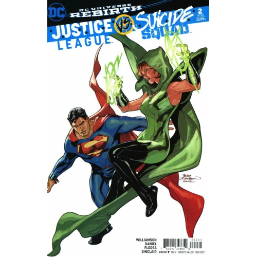 Justice League Vs Suicide Squad 2 (of 6) Dodson Variant (VO)