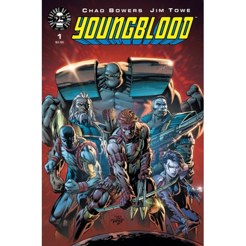 Youngblood 1 David Finch Variant