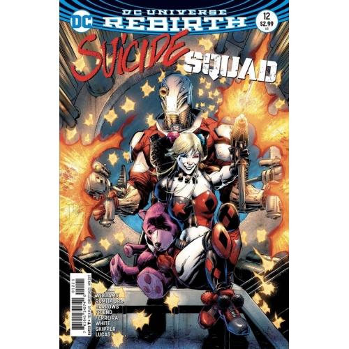 Suicide Squad 12 Whilce Portacio Variant (VO)