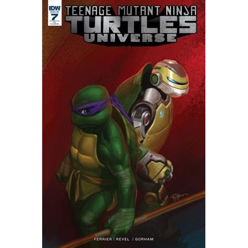 Teenage Mutant Ninja Turtles Universe 7 10 Copy Incentive (VO)