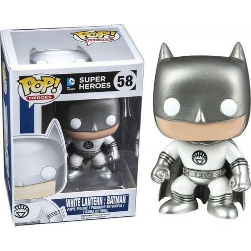 Funko Pop White Lantern Batman