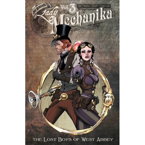 Lady Mechanika Volume 3 TPB : The Lost Boys of West Abbey