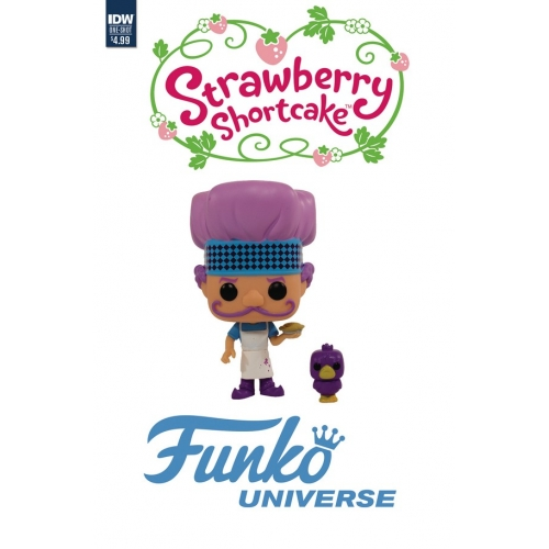 STRAWBERRY SHORTCAKE: FUNKO UNIVERSE FUNKO TOY VARIANT (VO)