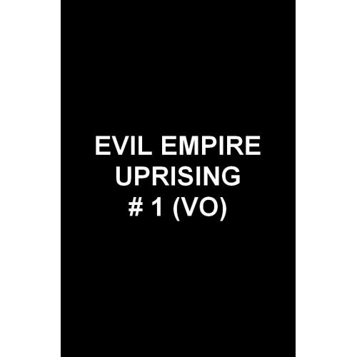 Secret Empire Uprising 1 (VO)