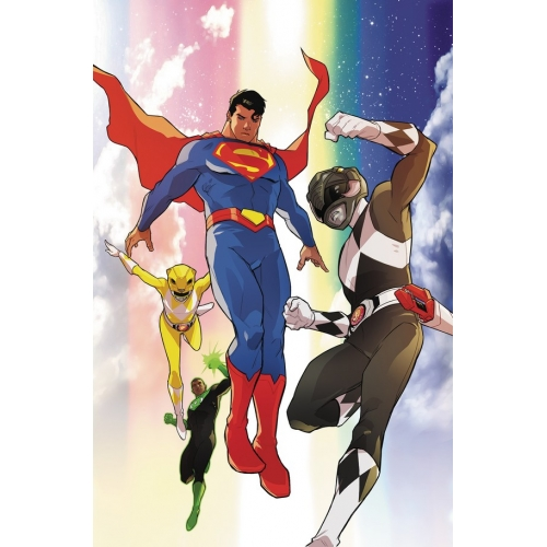Justice League / Power Rangers 5 (of 6) (VO)