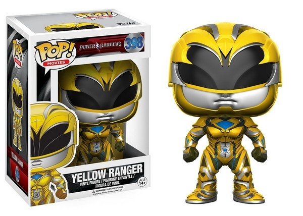 Funko Pop Power Rangers Movie Yellow Ranger
