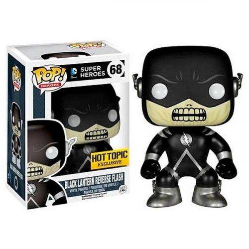Funko Pop Black Lantern Reverse Flash