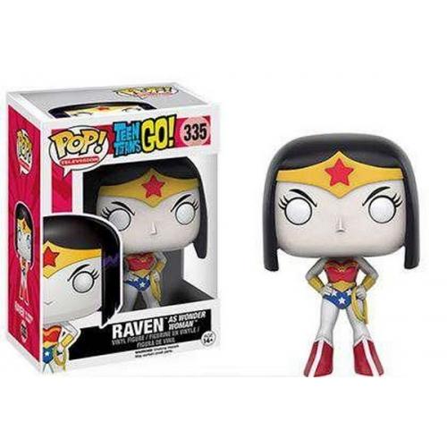 Funko Pop Dc Comics Teen Titans Go ! Raven As Wonder Woman Exclu