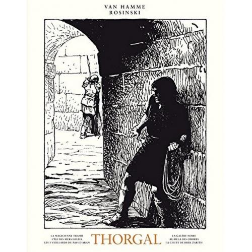 Intégrale Thorgal N&B Volume 1 (VF)