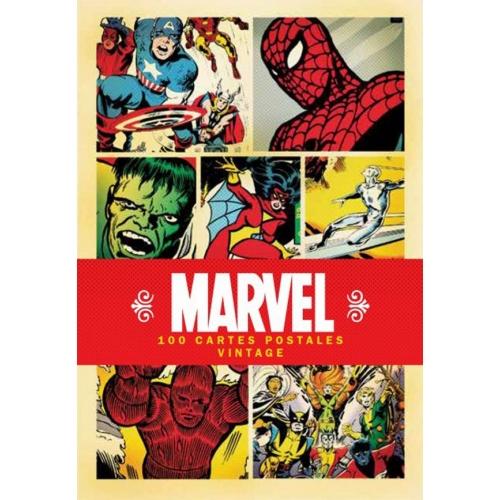 Marvel 100 cartes postales vintage