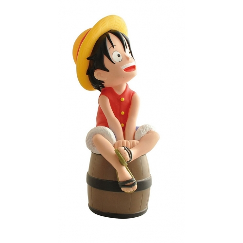 Tirelire One Piece - Luffy sur son radeau
