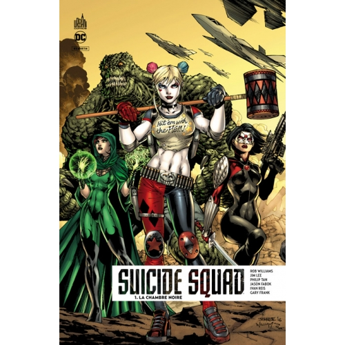 Suicide Squad Rebirth Tome 1 - Edition Collector Exclusive - 500 ex (VF)