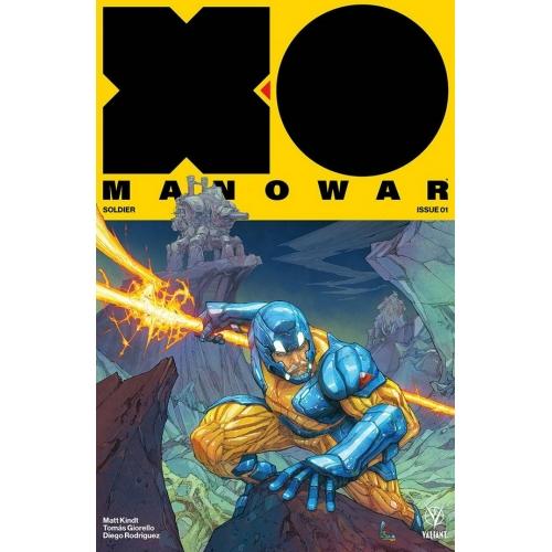X-O Manowar 1 Rocafort Variant (VO)