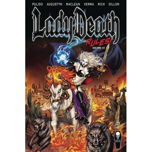 LADY DEATH RULES HC VOL 01 (VO)