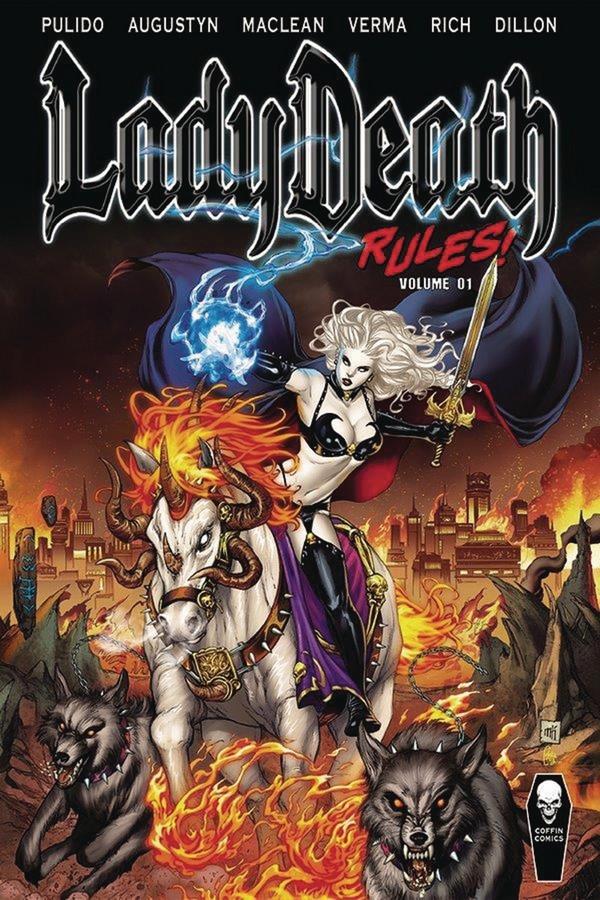 LADY DEATH RULES HC VOL 01 (VO)