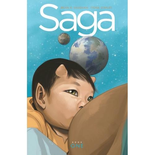 SAGA DELUXE EDITION HC Vol. 1 (VO)