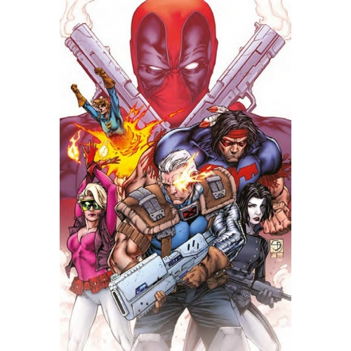 Deadpool Vs X-Force (VF)