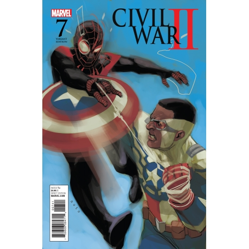 Civil War II n°5 (Couverture 2/2) (VF)