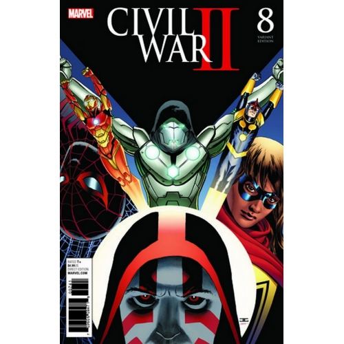 Civil War II n°6 (Couverture 2/2) (VF)
