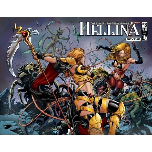 Hellina : Scythe 3 Wrap Cover (VO)