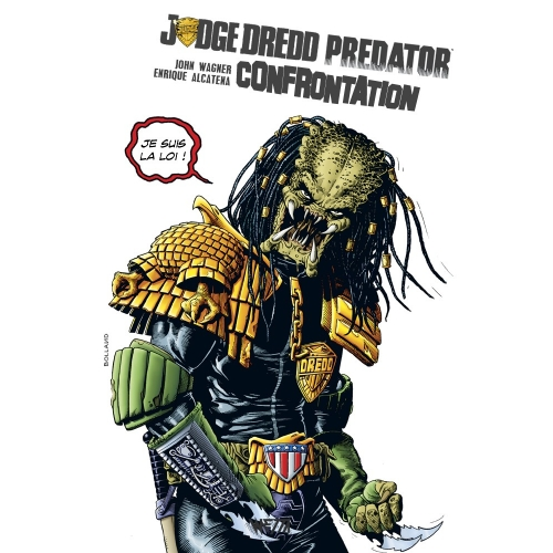 Judge Dredd-Predator : Confrontation Édition Hardcore (VF)