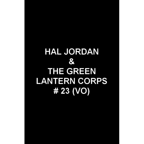 Hal Jordan & the Green Lantern Corps 23 (VO)