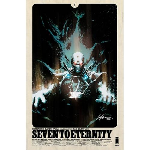 Seven to Eternity 5 Albuquerque Variant (VO) Rick Remender -Jerome Opena