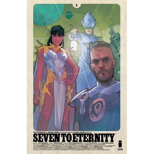 Seven to Eternity 5 Noto Variant (VO) Rick Remender -Jerome Opena