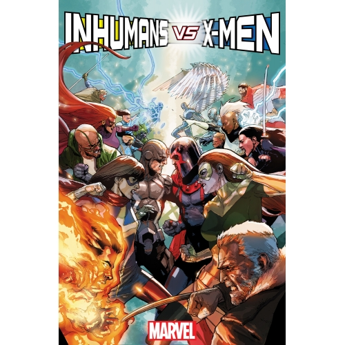 Inhumans vs X-Men n°1 (VF)