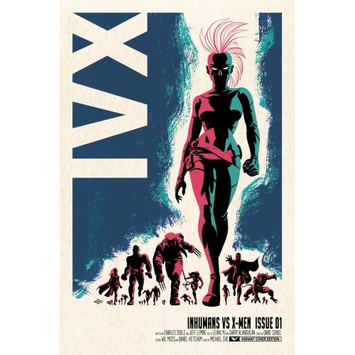 Inhumans vs X-Men n°1 Edition collector + Coffret (VF)