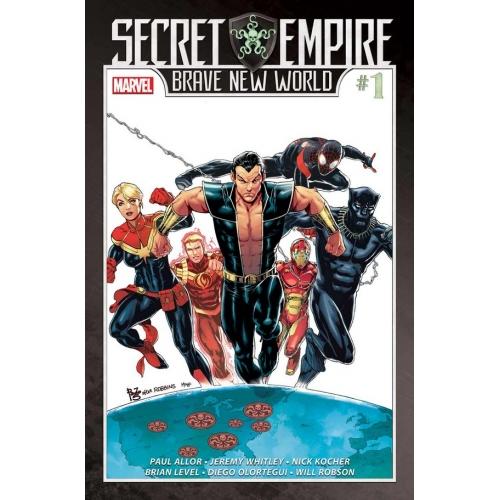 SECRET EMPIRE: BRAVE NEW WORLD 1 (of 5) (VO)