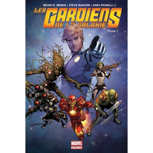 Les Gardiens de la galaxie Marvel Now Tome 1 (VF)