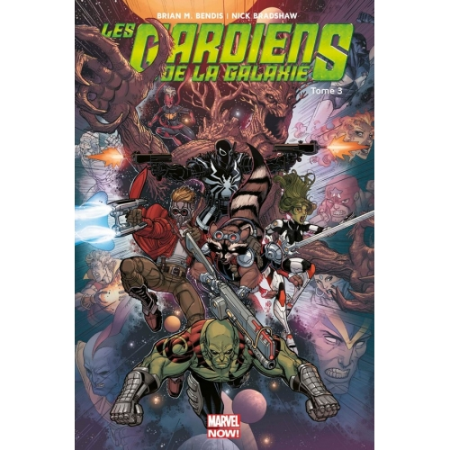 Les Gardiens de la galaxie Marvel Now Tome 3 (VF)