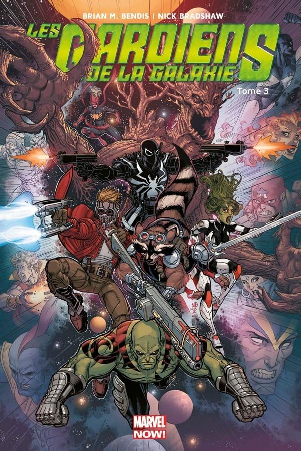 Les Gardiens de la galaxie Marvel Now Tome 3 (VF)