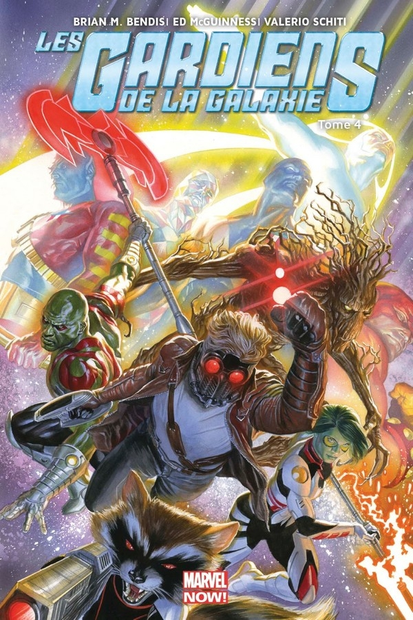 Les Gardiens de la galaxie Marvel Now Tome 4 (VF)