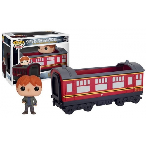 Funko Harry Potter Wagon Poudlard Express avec Ron