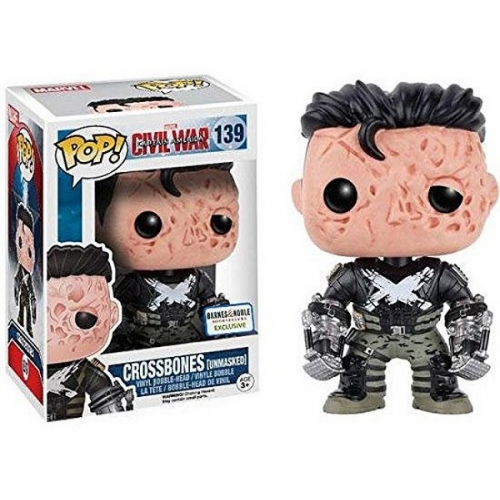 Funko Pop Civil War - Crossbones Unmasked