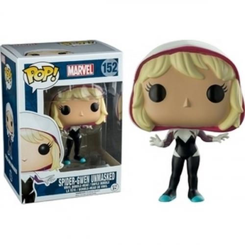 Funko Pop Spider-Gwen Unmasked Exclu