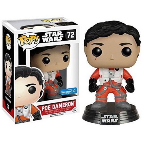Funko Pop Star Wars Poe Dameron Sans Casque