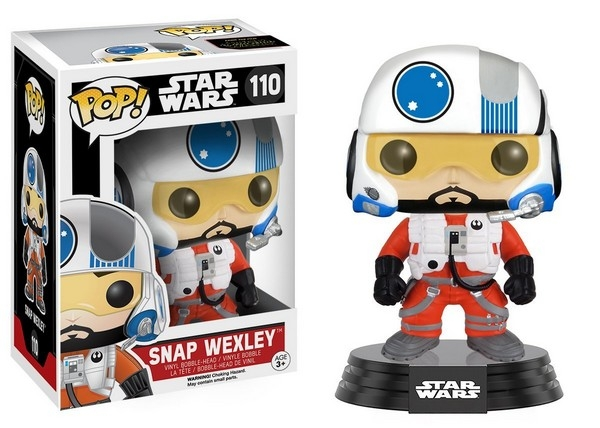 Funko Pop Star Wars Snap Wexley