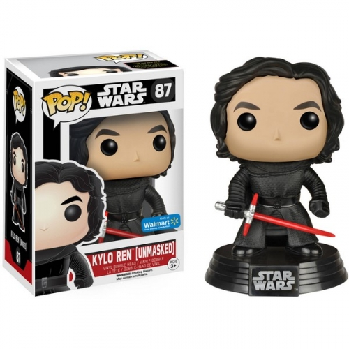 Funko Pop Star Wars Kylo Ren Unmasked